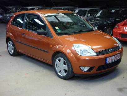 Ford Fiesta Orange