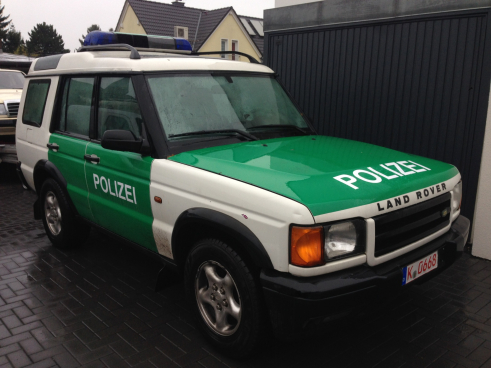 Landrover Discovery Polizei
