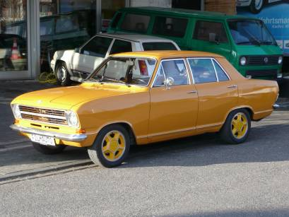 Opel Kadett B Orange
