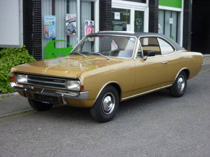 Opel Record C Coupe