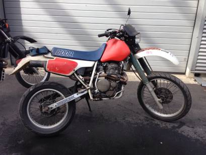 Honda XR600R Crossmaschine