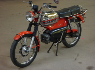 Kreidler Florett Orange (1)